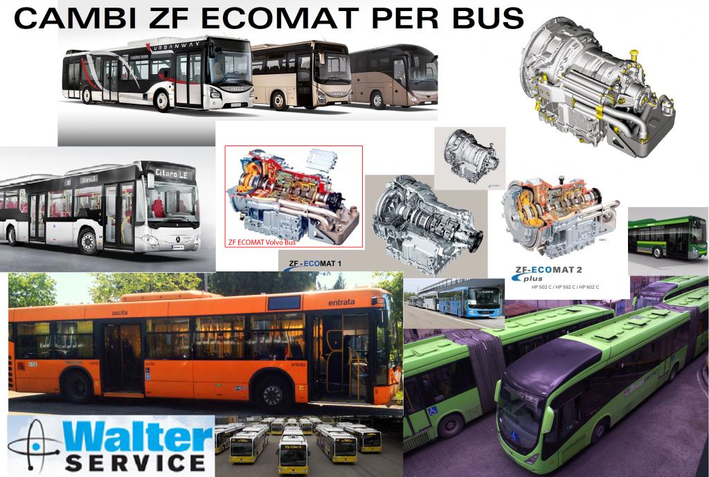 walter service revisione cambi zf ecomat