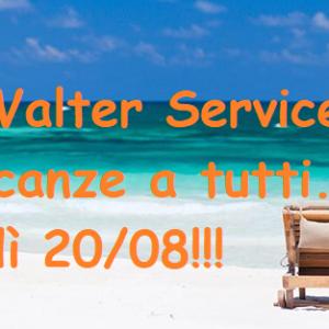VACANZE WALTER SERVICE 2018