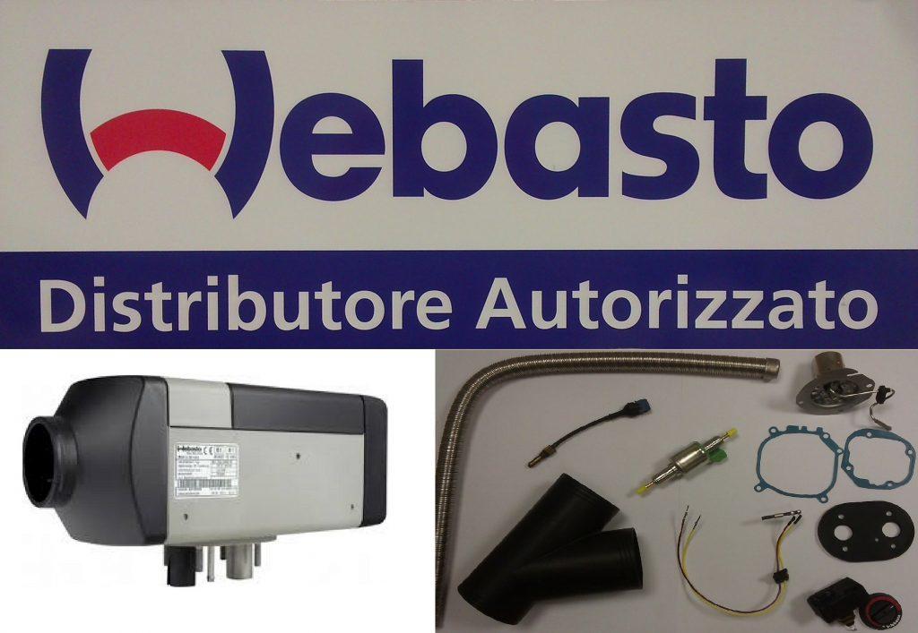 Riscaldatori autonomi webasto, vendita installazione assistenza e ricambistica