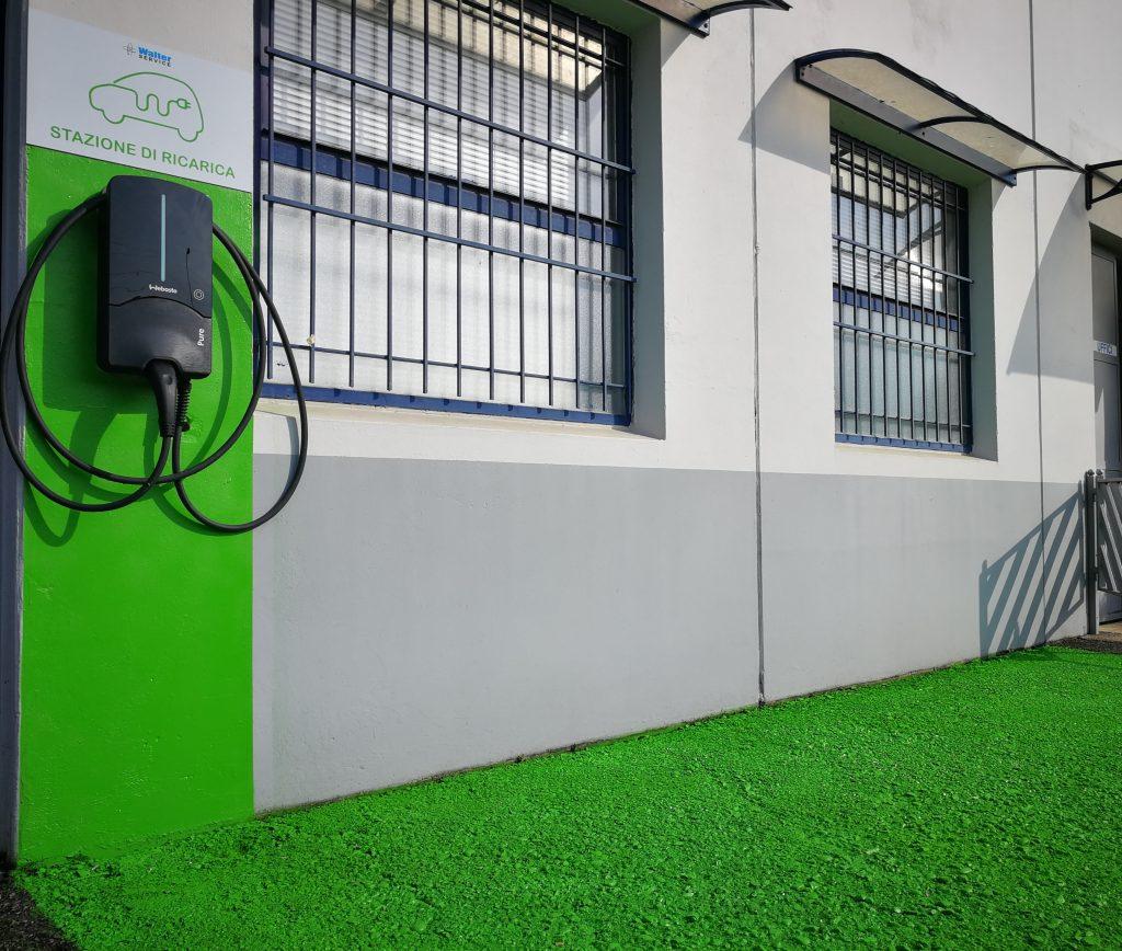 stazione di ricarica auto elettriche