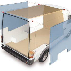 coibentazione furgone