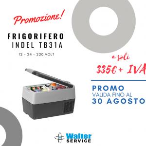 📣📣 SOLO PER IL MESE DI AGOSTO! 📣📣 Promozione FRIGORIFERO INDEL TB31A a soli 335€ + IVA !