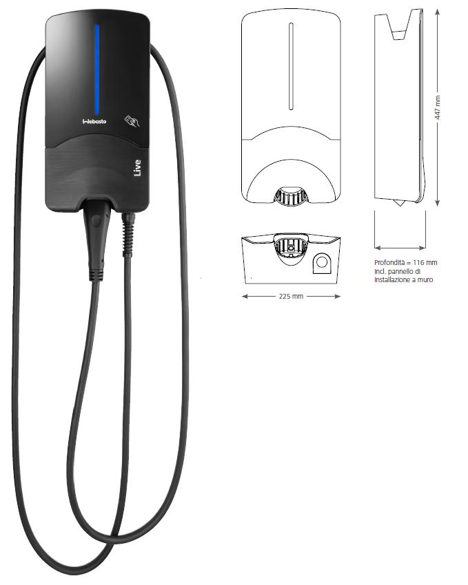webasto live stazione ricarica auto elettriche